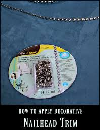 Dritz Home Decorative Nails How To Apply Decorative Nailhead Trim