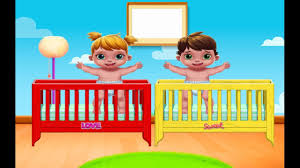 playtime baby twins fun bathtime dress up doctor baby care