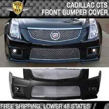 cadillac cts styles 08 13 cadillac cts v style pp front bumper cover mesh grille with