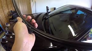 mercedes windshield wiper how to replace the windshield wiper blades on a 2006 mercedes