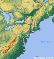 Map Of Ne History And Culture A 20122013 Northeastern Of United States Map