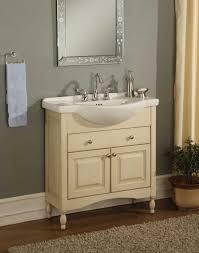 shallow round polished beige travertine vessel sink bathroom sinks