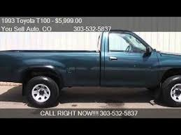 toyota t100 truck 1993 toyota t100 t100 5 spd manual truck t 100 for sale in