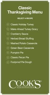 thanksgiving classic thanksgiving menu hosting traditional