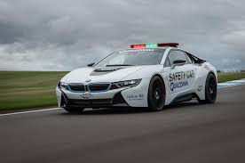 bmw i8 car formula e s bmw i8 safety car driven on track autocar