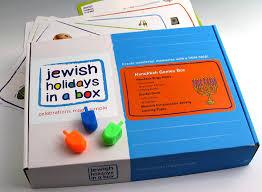 hanukkah toys hanukkah box 25 97 holidays in a box