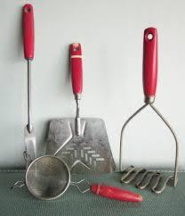 Red Kitchen Accessories Ideas 377 Best Kitchen Utensils Vintage Is Best Images On Pinterest