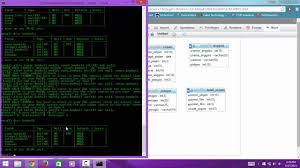 membuat database akademik dengan mysql tutorial cara membuat database table di xp mysql dengan