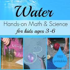 Scientific Method Worksheet For Kids Water Math U0026 Science Activities For Kids Ages 3 6 The Measured Mom