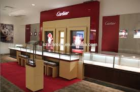 Shop In Shop Interior by Name Brand Shopping Mall Watch Wall Display Kiosk With Back Lit