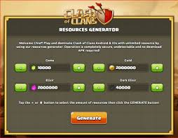 clash of clans hack tool apk clash of clans hacked version coc gems hack free no