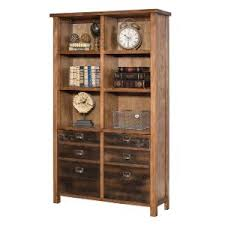 Oak Bookcases With Drawers Rc Willey Sells Bookcases For Your Home Office