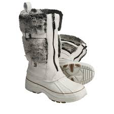 s boots with fur khombu arctic zip winter boots waterproof plush faux fur lining