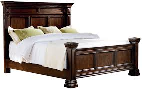 Standard Furniture Charleston Traditional Queen Panel Bed With - Charleston bedroom furniture
