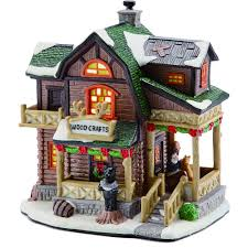 lemax halloween houses holiday time 8