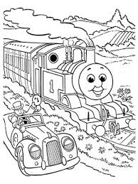 free coloring pages of thomas the train kids cartoon coloring
