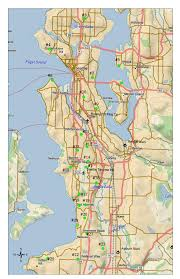 Seattle Terminal Map by Aircraft Monitoring System