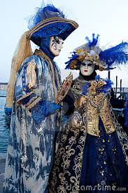 venetian costume venice carnival costumes in carnival costume are posing on