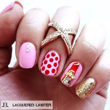 lacquered lawyer nail art blog kiss me