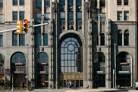 Reinvention Of An Industrial Loft Detroit S Art Deco Masterpiece Like Its City Is Poised For
