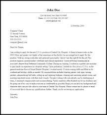 professional c n a cover letter sample u0026 writing guide