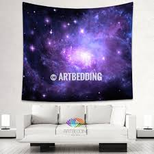 Home Decor Purple by Galaxy Tapestry Purple Spiral Galaxy Wall Tapestry Purple Galaxy