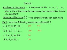 1 1 arithmetic sequences and series warm up in 1 a pyramid of