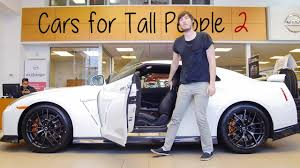 sofa for tall person cars for tall people 2 youtube