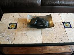 rustic tile coffee table hgtv