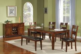mango wood dining table holland house 1279 modern solid mango wood dining table godby home