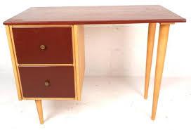 Bassett Writing Desk Mid Century Modern Petite Writing Desk By J B Van Sciver Co For