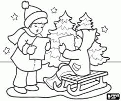 children christmas coloring pages printable games