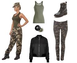 Military Halloween Costumes Women 25 Army Costumes Ideas Army Girls