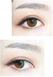 fresh look daily wear non prescription contact lens blue tones
