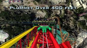 Six Flags Height Lex Luthor Drop Of Doom Six Flags Magic Mountain 2012 Youtube