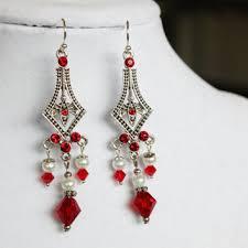 Red Chandelier Earrings Red Chandelier Earrings Australia Thesecretconsul Com