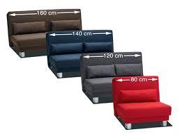 largeur canapé lit 120 cm largeur affordable lit lit cm de luxe canape lit