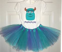 sully costume princess sully tutu party costume