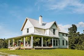 farmhouse with wrap around porch exclusive 3 bed farmhouse plan with wrap around porch 77626fb