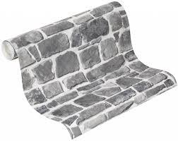 wohnzimmer grau wei steine wohnzimmer grau wei steine dekoration mustertapete mit steinen