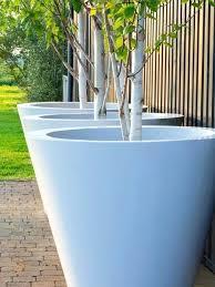 large white garden pots large white garden planters white ceramic