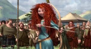 meet disney u0027s feminist heroine princess merida shoots