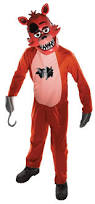 spirit halloween pay amazon com five nights child u0027s value priced at freddy u0027s foxy