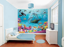 kids wall stickers wall stickers for kids sea mural by www kidswallstickers ie