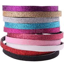 glitter headbands plastic glitter headbands sport black