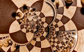 Optical Illusion Wallpaper by Chess Pieces Optical Illusion Wallpaper Free Desktop Backgrounds