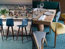 new kelly wearstler bar stools viviane restaurant at avalon