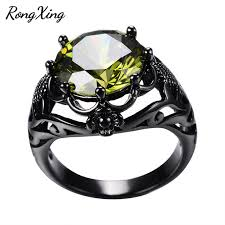 birthstone rings for aliexpress buy rongxing fashion august birthstone rings for