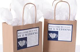 out of town guest bags labelsrus wedding labels wedding favors