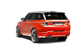 range rover back ac schnitzer gives the range rover sport diesel more power and the
